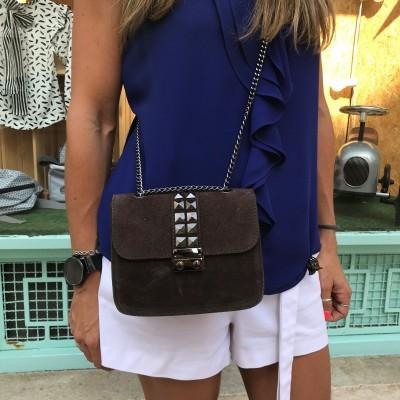 Mini Bag Castanha