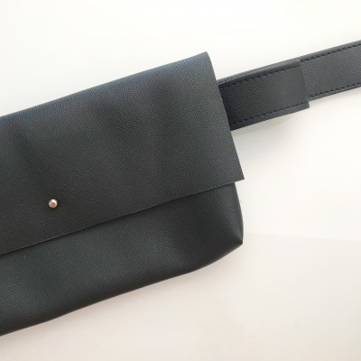Bolsa Cintura | Preto Liso