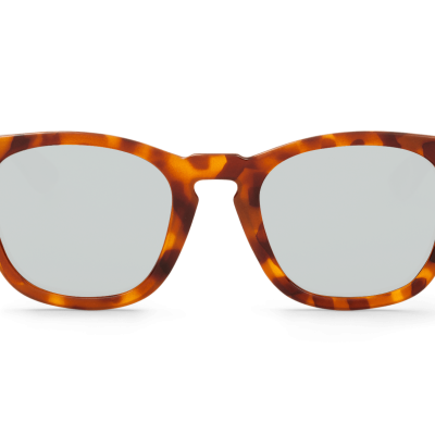 LEO TORTOISE ISOLA WITH SILVER LENSES