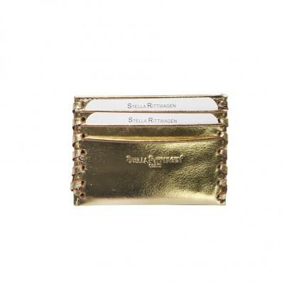 Carteira Porta Cartões | Dourado