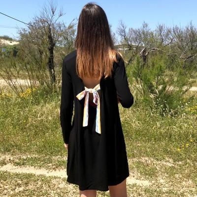 Vestido Ruga | Preto 2639