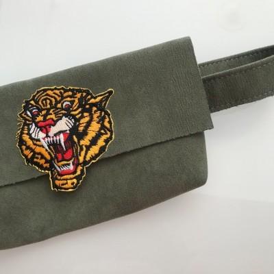 Bolsa Cintura Kaki | Tigre