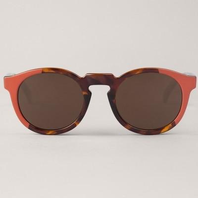 Coral/Vintage Tortoise Jordaan  with classical lenses