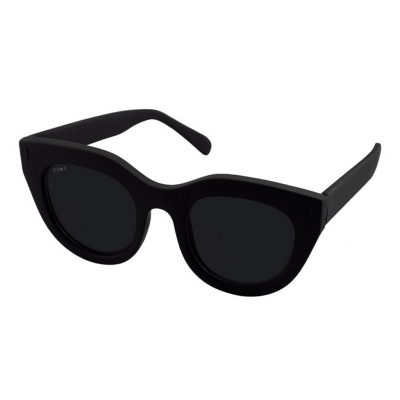 ROSETTA | RUBBER BLACK WITH SMOKE LENSES