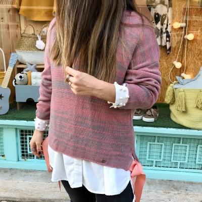 Camisola Laços Rosa | RUGA