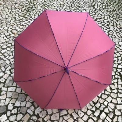 Guarda-Chuva Liso | Rosa