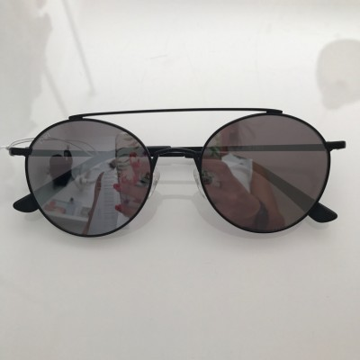 CÉRES BLACK WITH SILVER LENSES