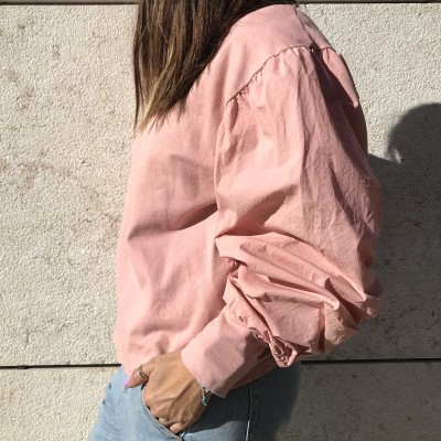 Sweat Manga Balão | Rosa