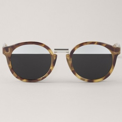 High-Contrast Tortoise Fitzroy with bicolor silver lenses