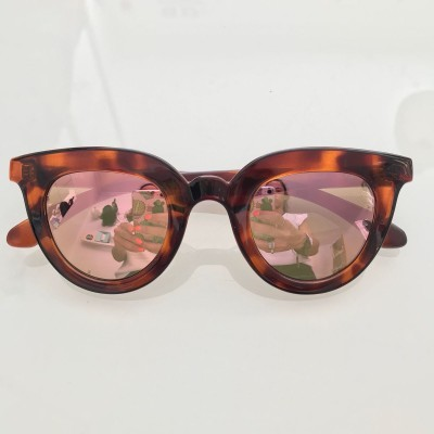 VINTAGE TORTOISE HAYES WITH COPPER LENSES