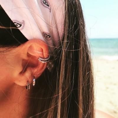 Ear Cuff   Prata