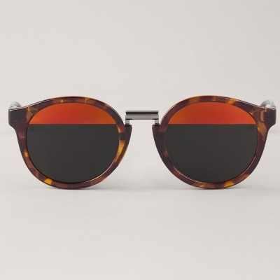 Vintage Tortoise Fitzroy with bicolor red lenses