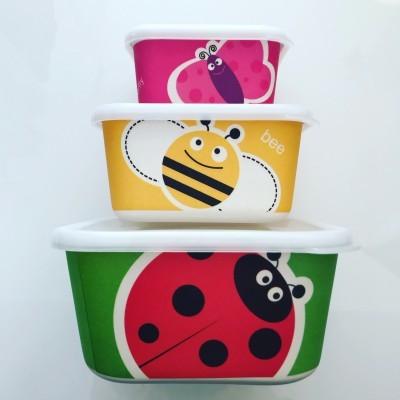 Conjunto 3 caixas | Frutas