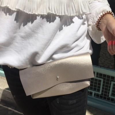 Bolsa Cintura | Dourada