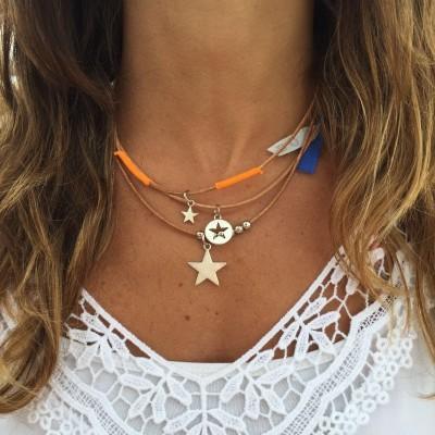 Pack 3 fios Cabedal | Estrelas