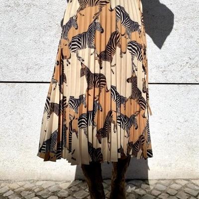 Saia Padrão zebra