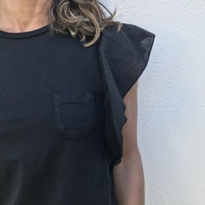 T-shirt Lisa Bolso | Azul Escuro