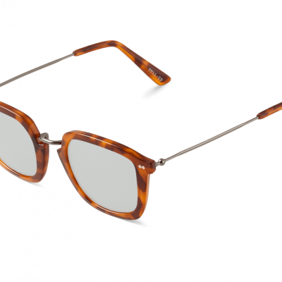 HC TORTOISE GALATA WITH SILVER LENSES
