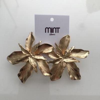 Brincos Flores | Dourado