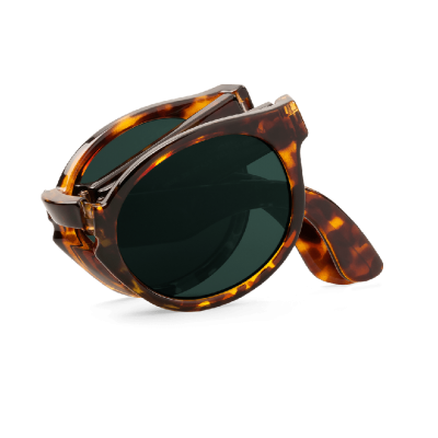 CHEETAH TORTOISE FOLDABLE JORDAAN WITH CLASSICAL LENSES