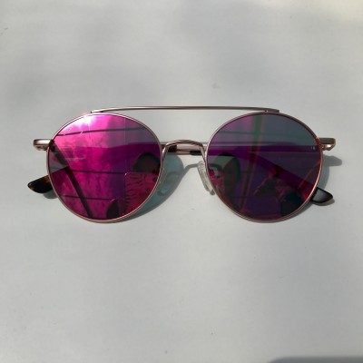 CÉRES GOLD WITH PINK LENSES