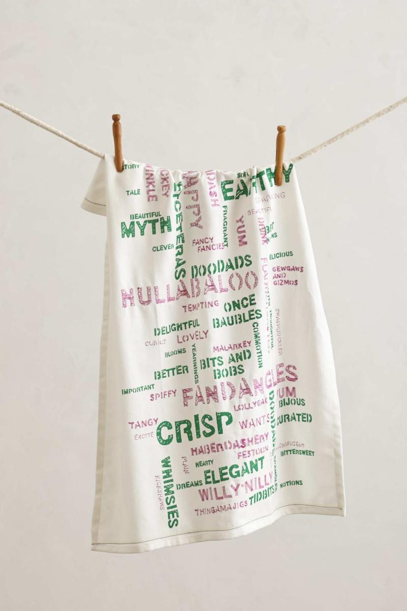 Wordsmith Tea Towel