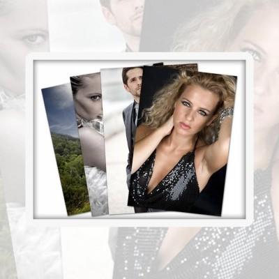 Papel Fotográfico - Formatos pequenos - sem Margem