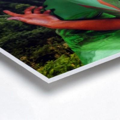 Foto sobre PVC 3mm - Quadrado