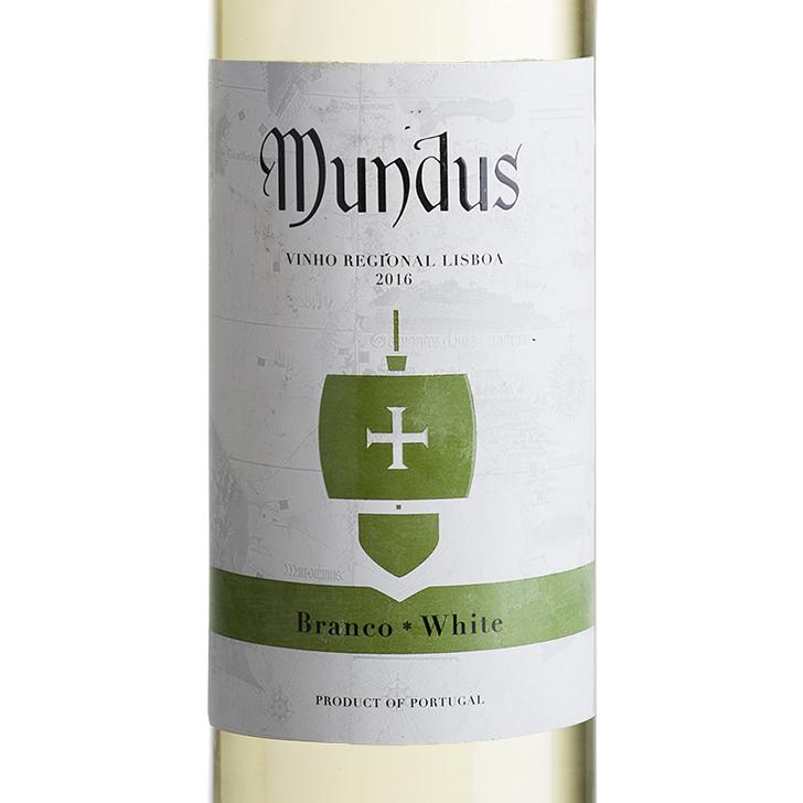 Mundus Branco IGP Lisboa 0,75L 13,0%