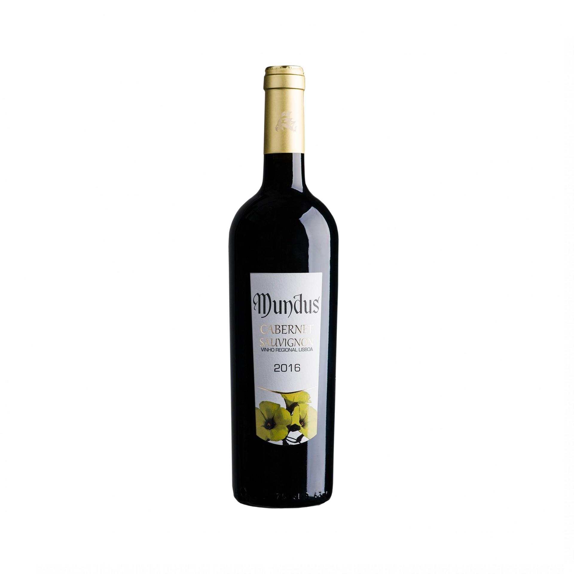 Mundus Cabernet Sauvignon Tinto IGP Lisboa 0,75L 13,0%