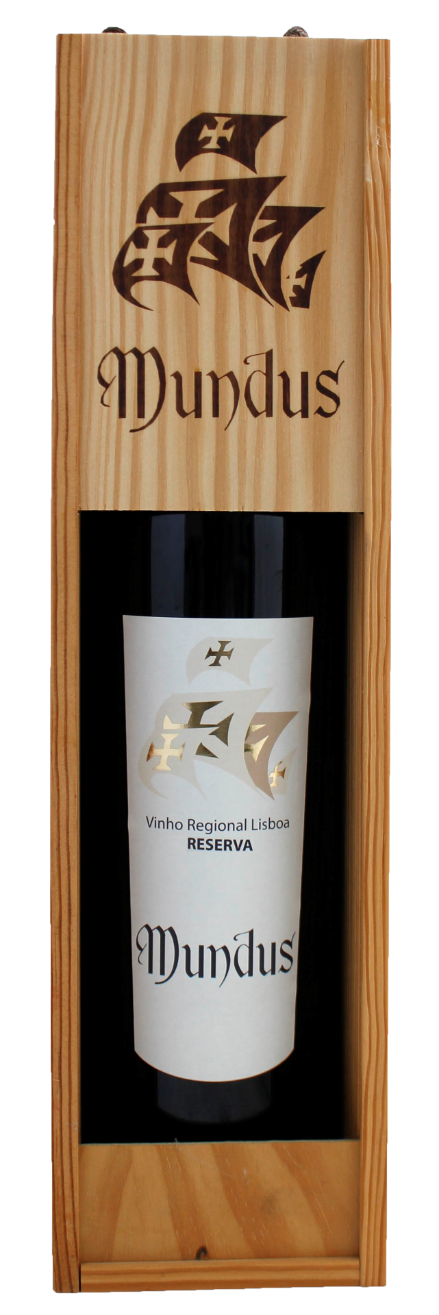 Mundus Reserva Tinto IGP Lisboa 0,75L 13,5%