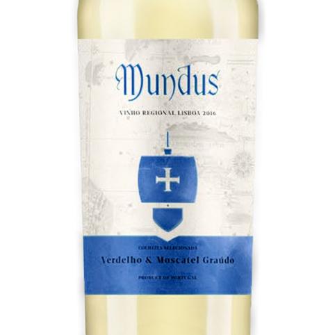 Mundus Selected Harvest Branco IGP Lisboa 0,75L 12,5%