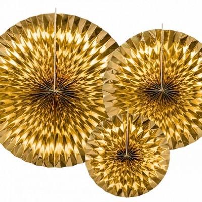 Rosetas Decorativas - Gold