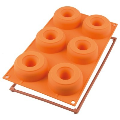 Molde Silicone Donuts