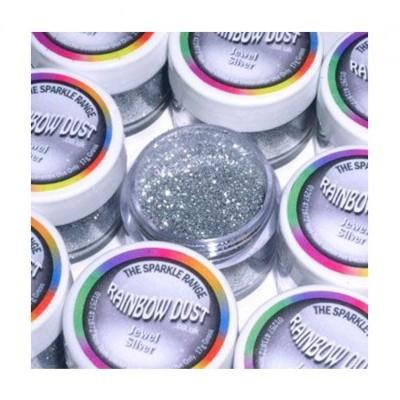 purpurinas - Jewel - Silver Glitter