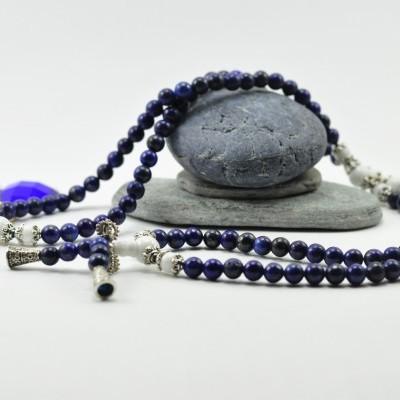 JapaMala de Pedra Lapis Lazuli