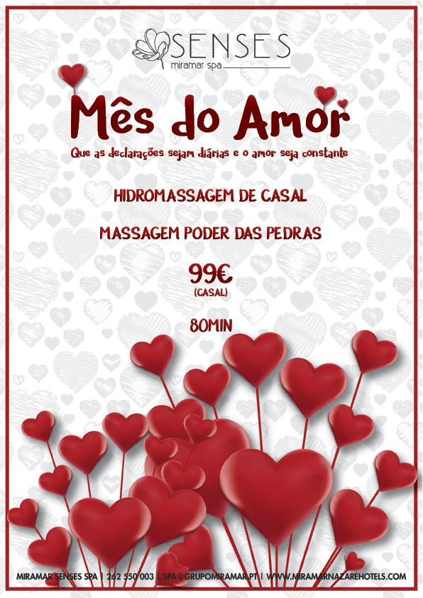 Promoção Dia dos Namorados - SPA Miramar Senses