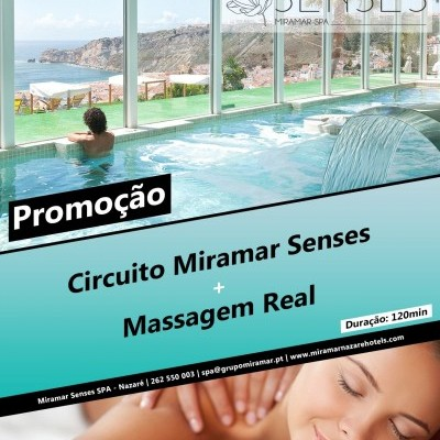 Circuito Miramar Senses SPA + Massagem Real