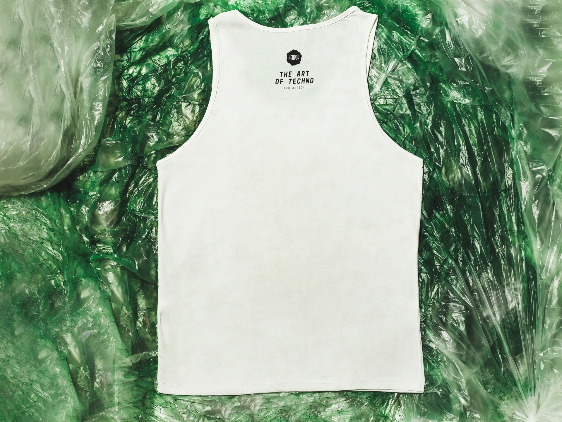 White Singlet Shirt (Planetary Assault System)