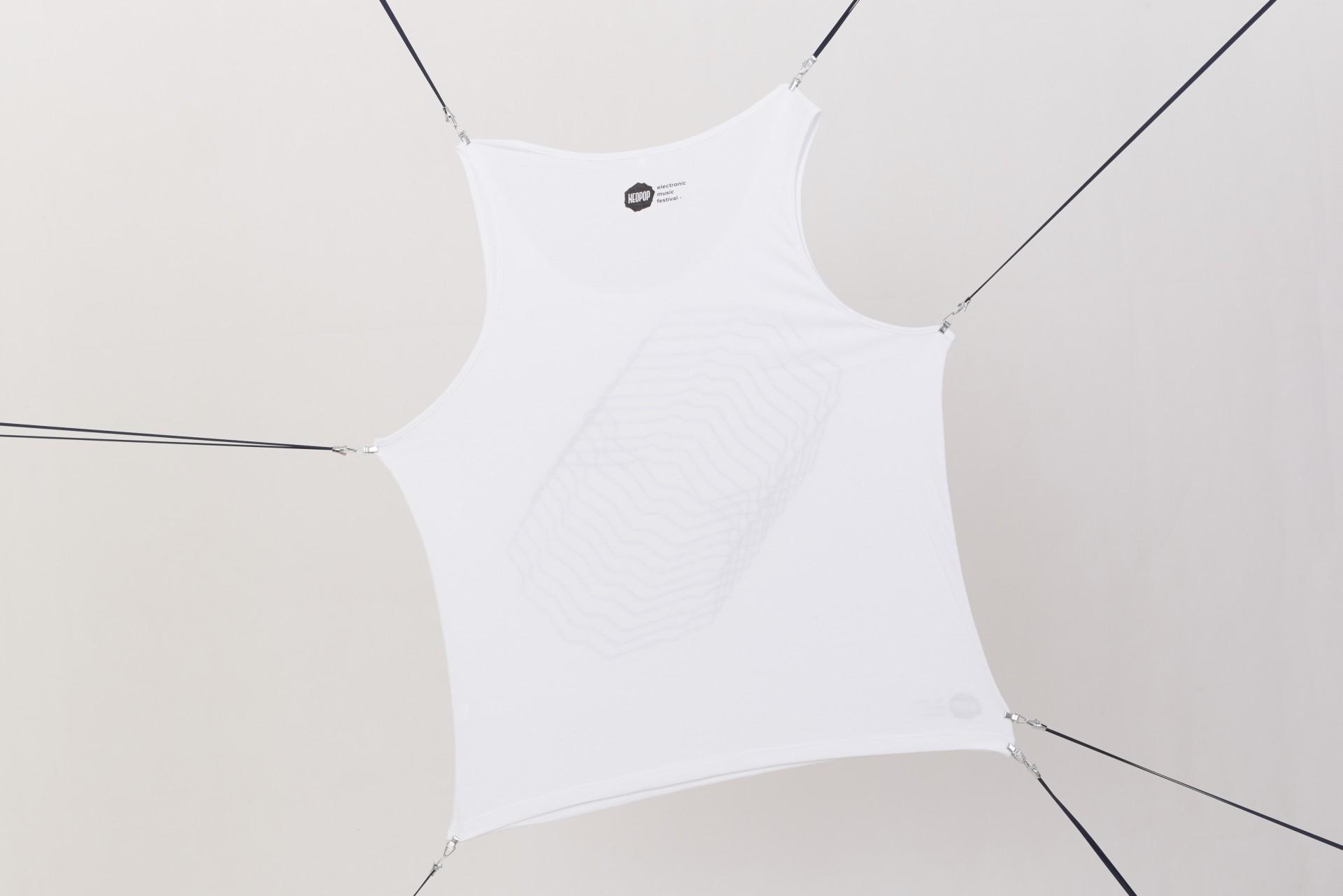 White Singlet Shirt
