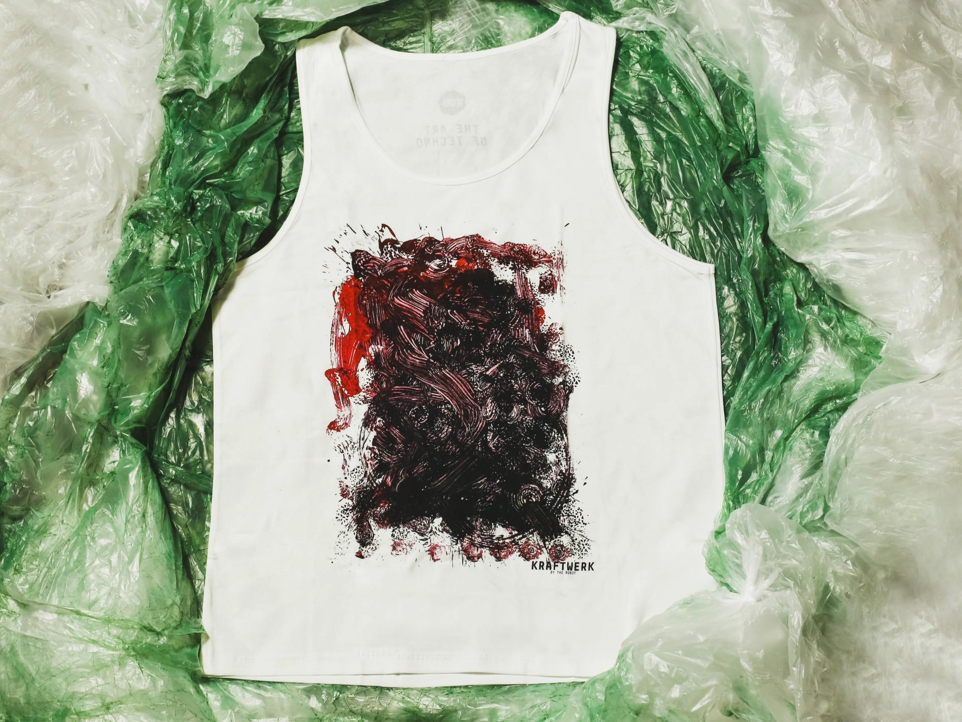 White Singlet Shirt (Kraftwerk)