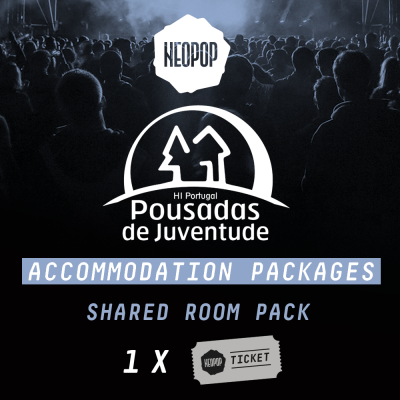 Shared Room Pack - Pousada Juventude Neopop 2018
