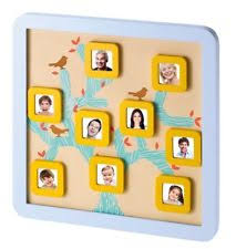 Baby Art Moldura Family Tree Frame