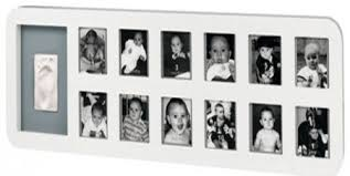 Baby Art First Year Print Frame