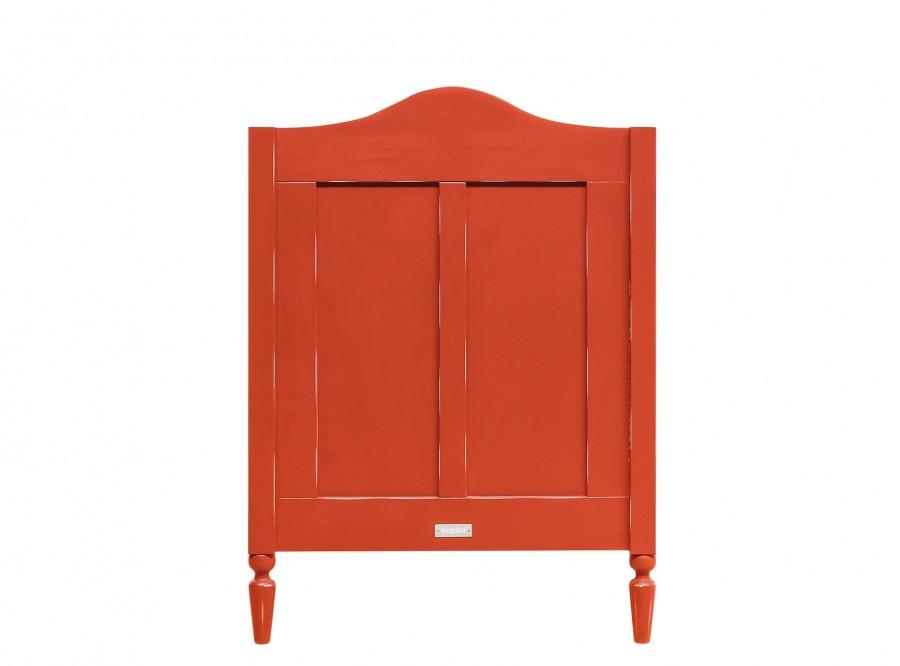 Cama de grades Vintage-Vermelho