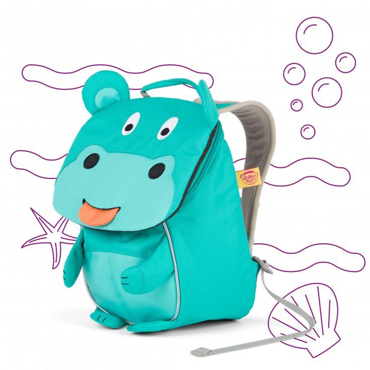 Mochila Hipopotamo Hilda  1-3 anos