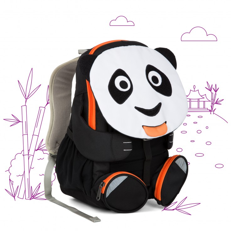 Mochila Panda Paul 3-5 anos
