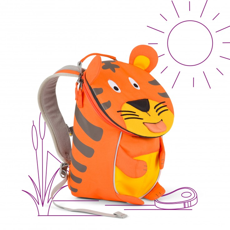 Mochila Tigre Timmy 1-3 anos