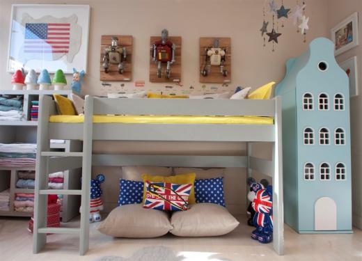 High Bed 127cm altura