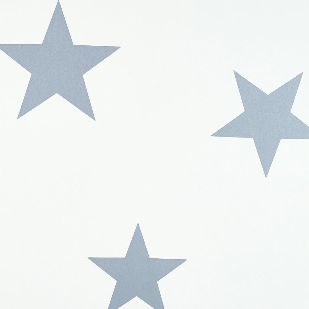 Papel de Parede - Stars Azul
